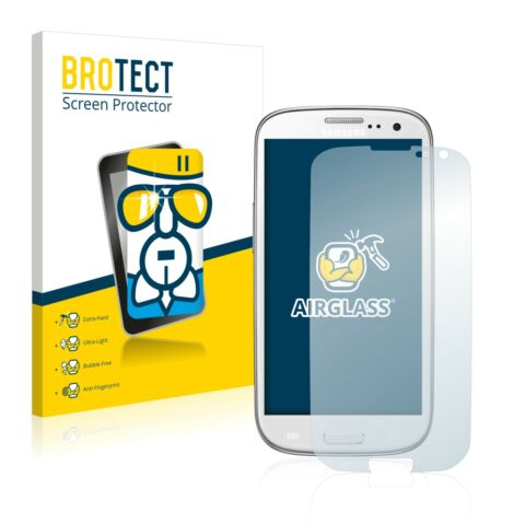 SAMSUNG GT I9301I AIRGLASS GLASS SCREEN PROTECTOR ULTRA THIN PROTECTION FILM