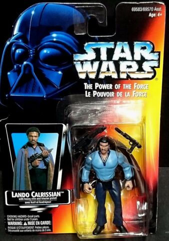 VINTAGE STAR WARS POWER OF THE FORCE LANDO CALRISSIAN BILLY DEE WILLIAMS 1995