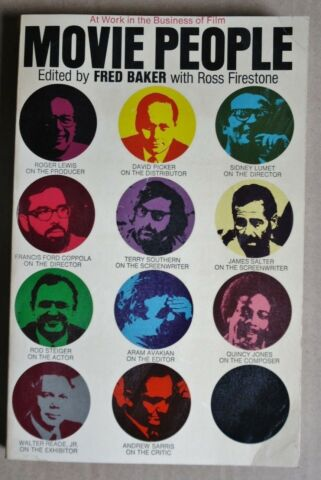 R0279 MOVIE PEOPLE AT WORK IN THE BUSINESS OF FILM PAPERBACK