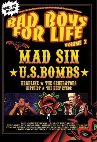 VARIOUS ARTISTS VARIOUS ARTISTS BAD BOYS FOR LIFE VOLUME 02 2 DVDS