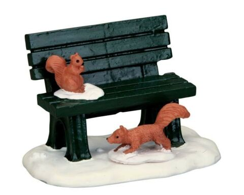 LEMAX ZUBEH R 54938 974 PARK BENCH IN WINTER