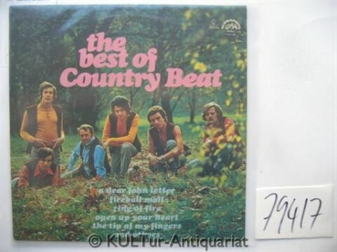 THE BEST OF COUNTRY BEAT VINYL LP COUNTRY BEAT