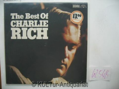 THE BEST OF CHARLIE RICH VINYL LP RICH CHARLIE