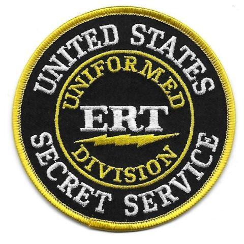 USA SECRET SERVICE SWAT ERT POLIZEI AUFN HER PATCH POLICE US