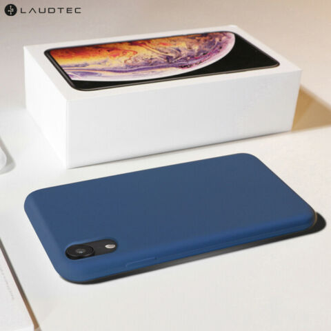 HANDYH LLE ELEGANT TPU SILIKON APPLE IPHONE X XS BLAU