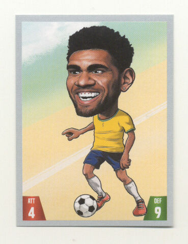 KICKERMANIA 2018 DANI ALVES BRASILIEN NR 160