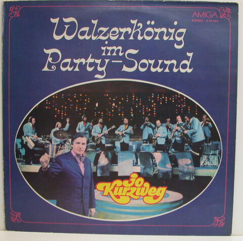 STRAUSS WALZERK NIG IM PARTY SOUND JO KURZWEG AMIGA 12 LP E537