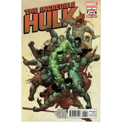 INCREDIBLE HULK 6 VOL 3