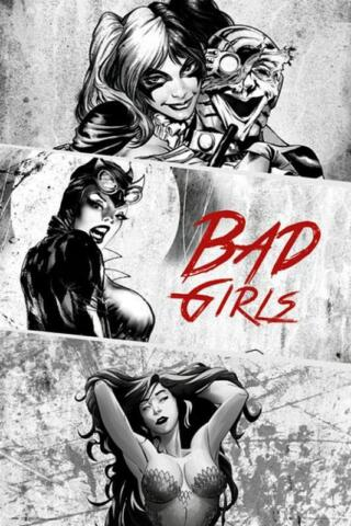 DC COMICS BAD GIRLS MAXI POSTER 61CM X 91 5CM NEW AND SEALED
