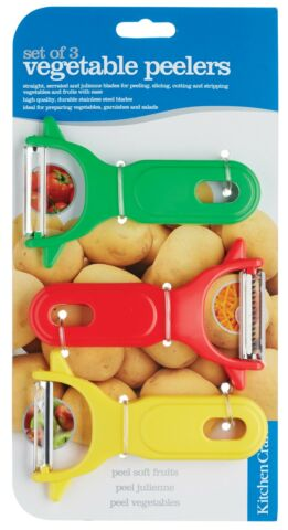 KITCHEN CRAFT 3ER SET GEM SE KARTOFFEL FR CHTE JULIENNE SCHNELL SCH LER