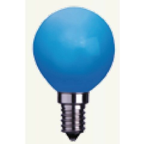 DECORATION LED GL HBIRNE LEUCHTMITTEL E14 230V BLAU 336 49