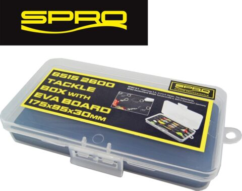 SPRO TACKLE BOX WITH EVA 17 5X9 5X3CM BLINKERBOX K DERBOX ANGELBOX