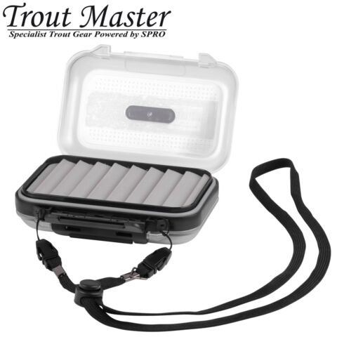 TROUT MASTER INCY SPOON BOX K DERBOX F R BLINKER TACKLEBOX KUNSTK DERBOX