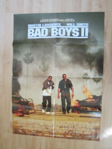 FILMPLAKAT BAD BOYS II WILL SMITH MARTIN LAWRENCE