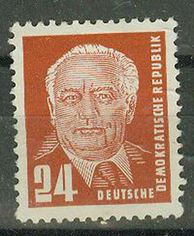 DDR BRIEFMARKEN 1952 WILHELM PIECK MI 324