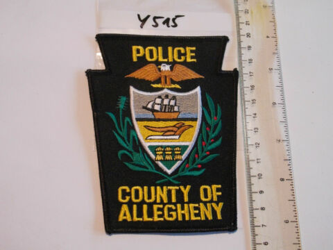 POLIZEI USA PATCH US COUNTY OF ALLEGHENY POLICE Y515