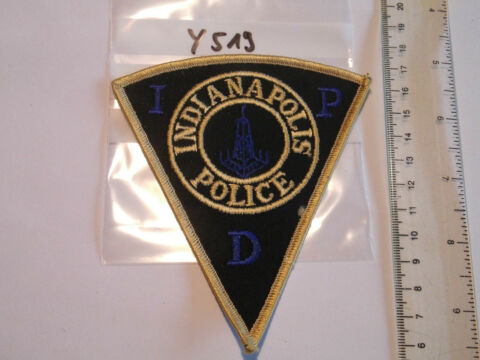 POLIZEI USA PATCH US INDIANAPOLIS POLICE IPD Y519