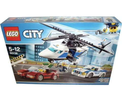 LEGO CITY 60138 POLICE HIGH SPEED CHASE NEW