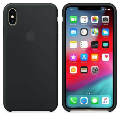 ORIGINAL IPHONE X XS SILIKON H LLE HANDYH LLE SCHUTZH LLE CASE APPLE COVER NEU