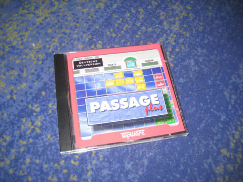 PASSAGE PLUS PC VON TOPWARE SELTENER KLASSIKER IN CD H LLE