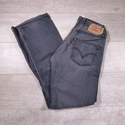 MENS BLACK LEVI STRAUSS 501 W31 L34 VINTAGE RED TAB DENIM JEANS 501S C2865