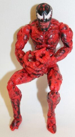 HASBRO AMT34 MARVEL LEGENDS RARE SPIDER MAN CARNAGE 6 TOY ACTION FIGURE