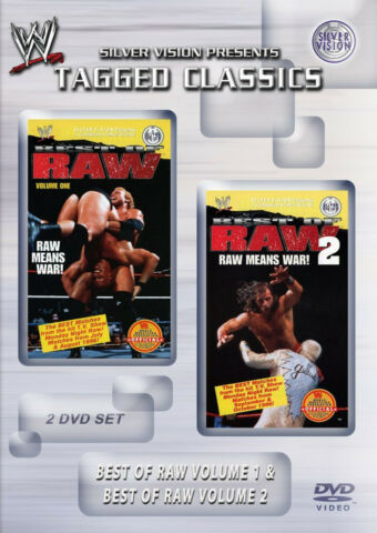 WWE THE BEST OF MONDAY NIGHT RAW MEANS WAR 1996 VOLUMES 1 2 2X DVD
