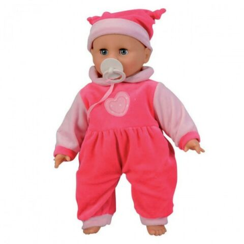 SIMBA 105142601 BABY COLLECTION CRYING DOLL PUPPE 40 CM WEINT SCHNULLER NEU