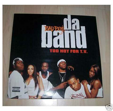 BAD BOYS DA BAND TOO HOT FOR T V TV 2 LPS ALBUM