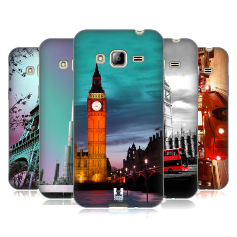 HEAD CASE DESIGNS BEST OF PLACES SET 2 SOFT GEL CASE FOR SAMSUNG PHONES 3