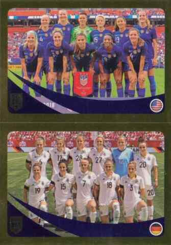 PANINI STICKER FIFA 365 2019 NR 442 USA GERMANY NEUWARE SAMMELBILD