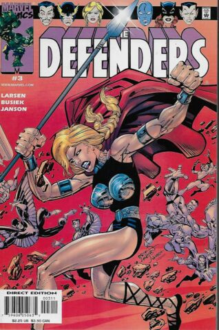 THE DEFENDERS VOL 2 NO 3 2001 KURT BUSIEK ERIK LARSEN