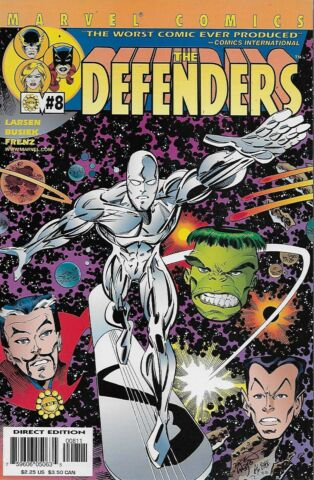 THE DEFENDERS VOL 2 NO 8 2001 KURT BUSIEK ERIK LARSEN