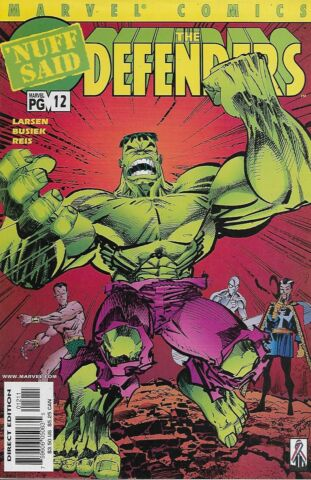 THE DEFENDERS VOL 2 NO 12 2002 FINAL ISSUE KURT BUSIEK ERIK LARSEN