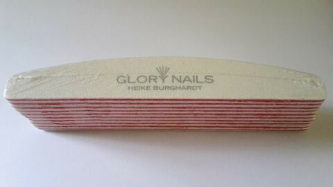GLORY NAILS BANANENFEILE SPECIAL 100 100 GRIT 10 ST CK