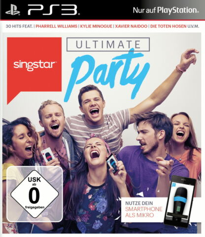 SINGSTAR ULTIMATE PARTY PS3 4