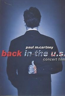 PAUL MCCARTNEY BACK IN THE U S VON HAEFELI MARK DVD ZUSTAND GUT