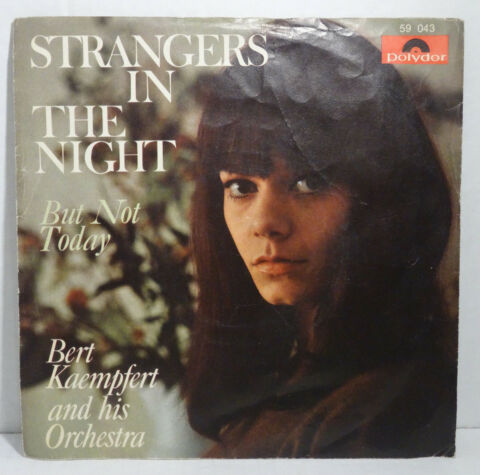 BERT KAEMPFERT STRANGERS IN THE NIGHT 7 SINGLE VINYL POLYDOR 1966