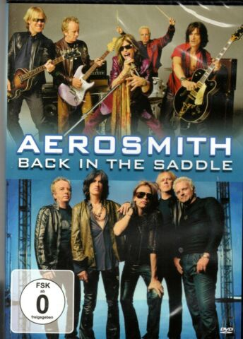 AEROSMITH BACK IN THE SADDLE NEU OVP