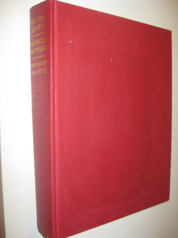 THE PALI TEXT SOCIETYS PALI ENGLISH DICTIONARY RHYS DAVIS WILLIAM STEDE 1986