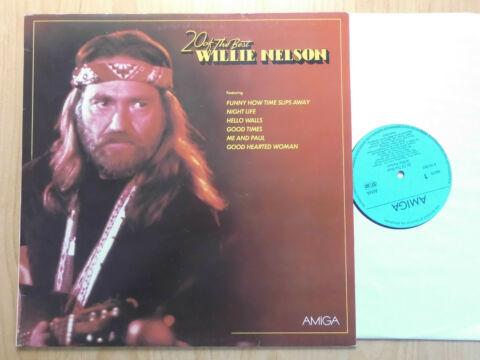 WILLIE NELSON DDR AMIGA LP 20 OF THE BEST 856363