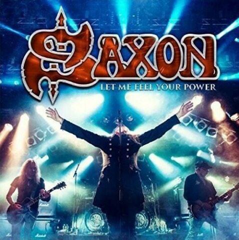 SAXON LET ME FEEL YOUR POWER CD DVD NEU