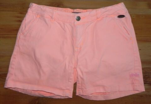 RETOUR SHORT F R M DCHEN 16 176 IN GUTEM ZUSTAND PINK USED LOOK