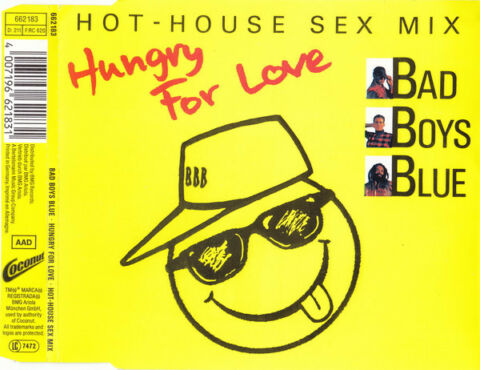 BAD BOYS BLUE HUNGRY FOR LOVE HOT HOUSE SEX MIX MAXI CD 1989 662 183