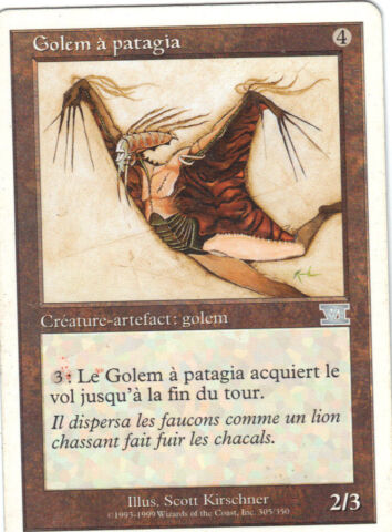 MAGIC NR 305 350 GOLEM ZU PATAGIA
