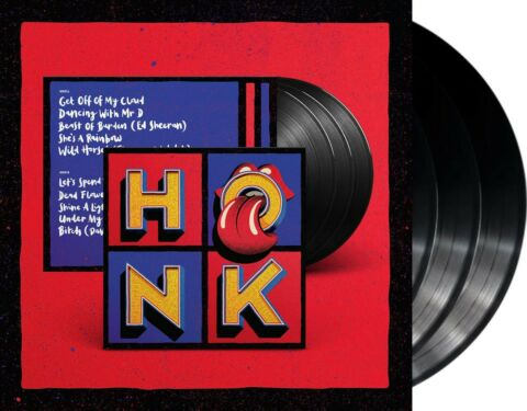 THE ROLLING STONES HONK VINYL 3LP NEU BEST OF ALBUM VVK V 19 04