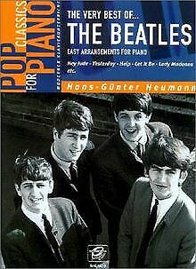 THE VERY BEST OF THE BEATLES EASY ARRANGEMENTS F BUCH ZUSTAND AKZEPTABEL