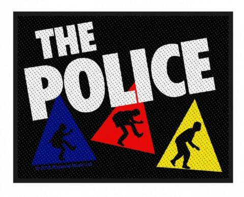 THE POLICE AUFN HER PATCH TRIANGLES 10X8CM