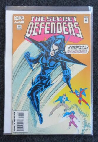 THE SECRET DEFENDERS NR 22 MARVEL COMICS USA ZUSTAND 1