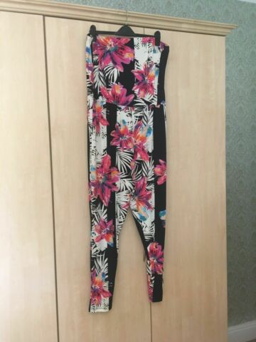 BNWT SOUTH TROPICAL BANDEAU TAPERED LEG JUMPSUIT CATSUIT SIZE UK 10